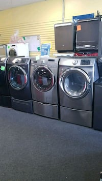 Samsung front load set washer and electric dryer  Randallstown