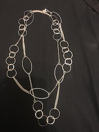 silver-colored 2-layered necklace Peterborough, K9H 3E4
