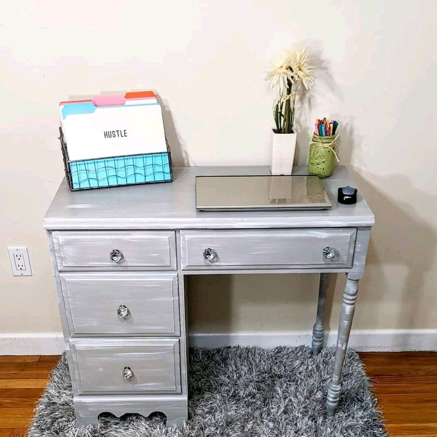 Gray Desk or Vanity
