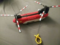 Matchbox Fire and Rescue Team Helicopter