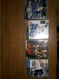 three assorted Sony PS3 game cases Edmonton, T6K 1T8
