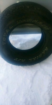 Set of 4. P265/70R17  Stony Plain, T7Z