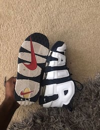 Size 11.5 Olympic Uptempo Silver Spring, 20903