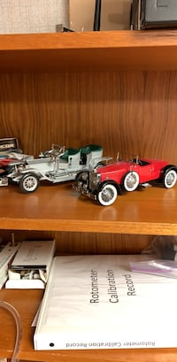 Old collectible toy cars