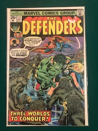 The Defenders 27 1st Starhawk Cameo