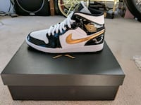 Jordan 1 patent leather and gold Vancouver, V6B 0J9