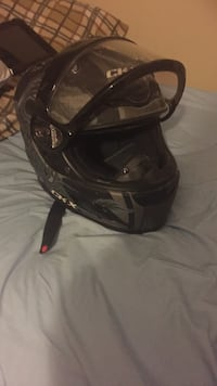 black and gray modular motorcycle helmet Winnipeg, R3W 0B1