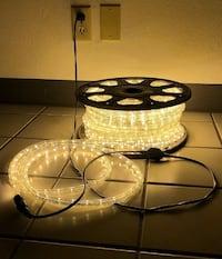 New $80 each Christmas 150' ft LED Rope Light Decorative Lighting Indoor Outdoor (5 Colors Available) South El Monte