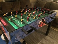 Foosball table with legs                              missing ball*