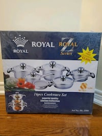 Royal 16 Piece Cookware set + 50 Free Face Covers