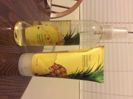 Bath and Body Works Pineapple Perfume and Lotion