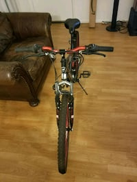 black and gray hardtail mountain bike Los Angeles, 91423