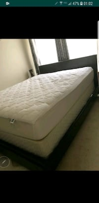 white and gray floral mattress Montclair, 22025
