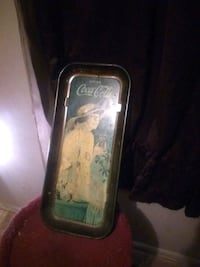 Coca-cola tin 1916. $25 or best offer
