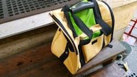 yellow and black pet carrier/backpack  Lantzville, V0R 2H0