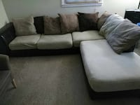 gray and black sectional couch 43 km
