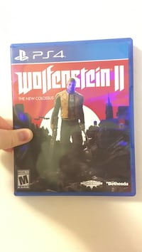 Wolfe stein 2 used twice great condition for ps4 Leetonia, 44431