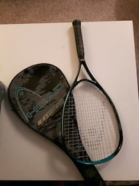 black Head Fusion tennis racket with case Kelowna, V1Y 7X1