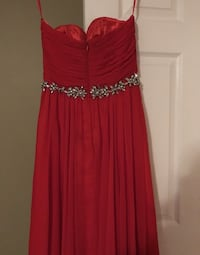 Red dress Essa, L0M