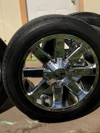 Ion rims with tires Odessa, 79762