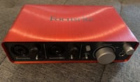Focusrite 2i2 interface