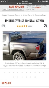 Toyota - Tacoma - 2010 Bedcover Richmond Hill, 31324