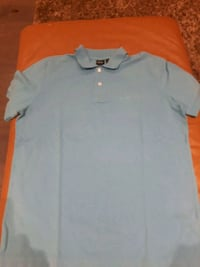 Hugo boss men's med light blue golf shirt Toronto, M9C 4K9