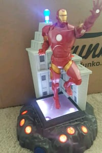 2015 iron man talking light up statue Beech Grove