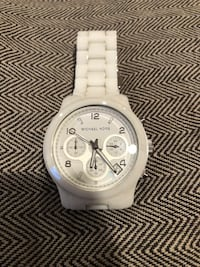 Women's Michael Kors Ceramic Watch. Price is not Negotiable. Little Ferry, 07643