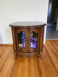 French Drum Side Table /Cabinet Brampton, L6W 2E9