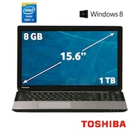 L50 NOTEBOOK CORE İ7 4700MQ 2.4GHZ-8GB 1TB-2GB-15.6''-W8- NOTEBOOK   Izmir, 35600