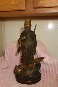 "Antique Chinese Bronze Statue 19""Tall Milwaukee, 53225"
