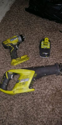 two yellow and black cordless power tools Pinon Hills, 92372