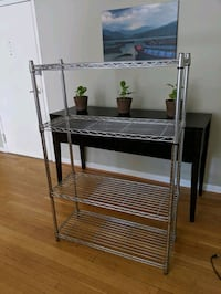 Wire adjustable storage rack Arlington, 22201
