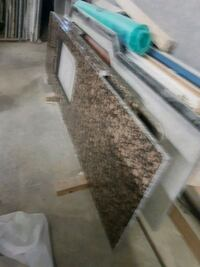 Granite already cut to fit L-shaped kitchen Toronto, M6A 1P6