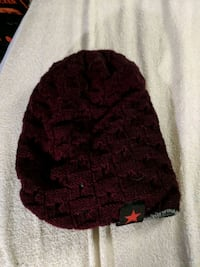 black and red knit cap Denver, 80211