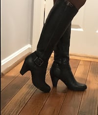 Leather knee boots (open to offers)  Burke, 22015