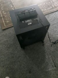 12 in sub excellent condition asking 45.oo it has  Layton