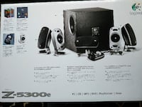 Logitech Z-5300e 5.1 Surround Sound Speakers