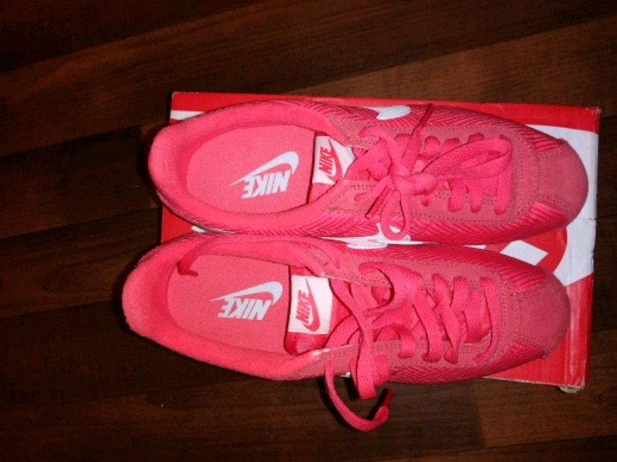 info for 875f2 7c043 ebay nike cortez hot pink used 39723 ce2d1