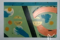 2 ft x 3 ft Hand painted abstract art Towson, 21204