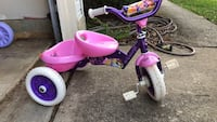 Toddler's purple and pink trike