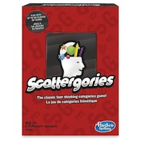 Scattergories Board Game - Brand New  Toronto, M4B 2T2