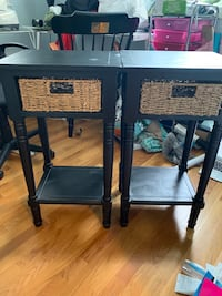 Two side tables  Rockland, 02370
