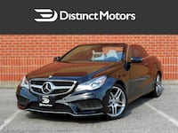 2014 Mercedes-Benz E350 Cab,Nav,Rear cam,Vented seats,Blind spot WOODBRIDGE