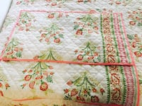 white, red, and green floral bed sheet set London, N6H 0B2
