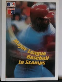 The Entire MLB Stamp Collection [1990] Jersey City, 07302