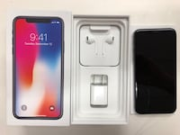 Space gray iphone x with box Alexandria, 22310