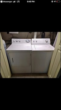 Washer/dryer set.  Whirlpool and DE  Bunker Hill, 25413