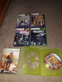 XBOX 360 GAMES $ 5 a piece.Take them all for $25. Cranston, 02920